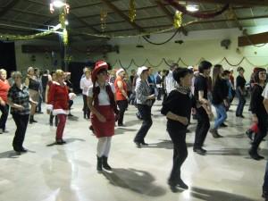 ... beaucoup de danseurs...