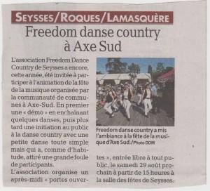 Freedom fête 1 001